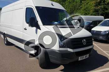Volkswagen Crafter 2.0 TDI 136PS High Roof Van in Candy White at Listers Volkswagen Van Centre Coventry