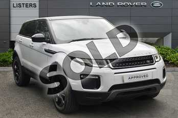 Range Rover Evoque 2.0 TD4 SE Tech 5dr in Yulong White at Listers Land Rover Droitwich