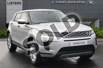 Range Rover Evoque 2.0 D180 S 5dr Auto in Indus Silver at Listers Land Rover Droitwich