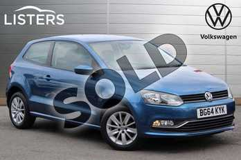 Volkswagen Polo 1.2 TSI SE 3dr in Blue Silk at Listers Volkswagen Nuneaton