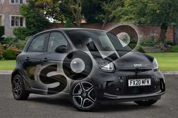 Smart Forfour 60kW EQ Pulse Premium 17kWh 5dr Auto (22kWch) in black at smart at Mercedes-Benz of Lincoln