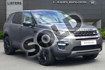 Land Rover Discovery Sport 2.0 TD4 180 HSE Black 5dr Auto in Waitomo Grey at Listers Land Rover Droitwich