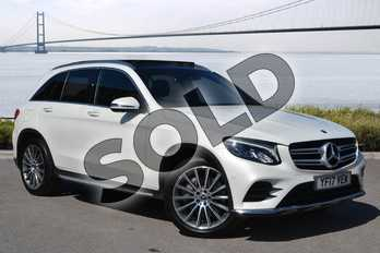 Mercedes-Benz GLC GLC 250d 4Matic AMG Line Prem Plus 5dr 9G-Tronic in designo diamond white bright at Mercedes-Benz of Hull
