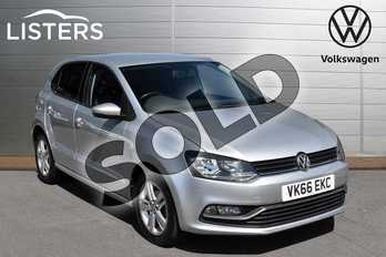Volkswagen Polo 1.2 TSI Match 5dr in Reflex silver at Listers Volkswagen Evesham