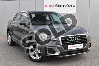 Audi Q2 1.4 TFSI Sport 5dr in Nano Grey Metallic at Stratford Audi