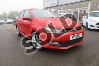 Volkswagen Polo 1.4 Match 5dr DSG in Metallic - Sunset orange at Listers Toyota Grantham