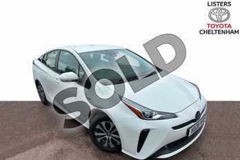 Toyota Prius 1.8 VVTi Business Edition 5dr CVT in Pure White at Listers Toyota Cheltenham