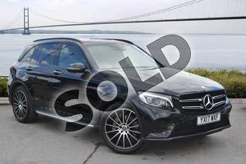 Mercedes-Benz GLC GLC 350d 4Matic AMG Line Prem Plus 5dr 9G-Tronic in Obsidian Black Metallic at Mercedes-Benz of Hull