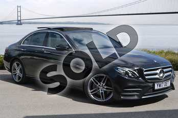 Mercedes-Benz E Class E220d AMG Line Premium 4dr 9G-Tronic in Obsidian Black Metallic at Mercedes-Benz of Hull