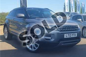 Range Rover Evoque 2.2 SD4 Pure 3dr (Tech Pack) in Metallic - Corris grey at Lexus Lincoln