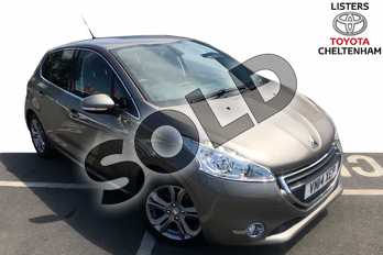 Peugeot 208 1.4 HDi Allure 5dr in Grey at Listers Toyota Cheltenham