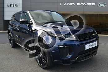 Range Rover Evoque 2.0 TD4 HSE Dynamic 5dr in Loire Blue at Listers Land Rover Hereford