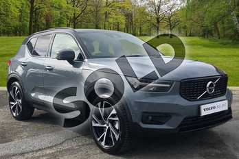 Volvo XC40 1.5 T5 (262) Hybrid R DESIGN Pro 5dr Geartronic in Thunder Grey at Listers Volvo Worcester