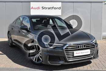 Audi A6 50 TDI Quattro S Line 4dr Tip Auto in Daytona Grey Pearlescent at Stratford Audi