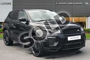 Range Rover Evoque 2.0 TD4 (180hp) HSE Dynamic in Santorini Black at Listers Land Rover Hereford