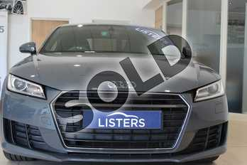 Audi TT 1.8T FSI Sport 2dr in Metallic - Nano grey at Listers U Northampton