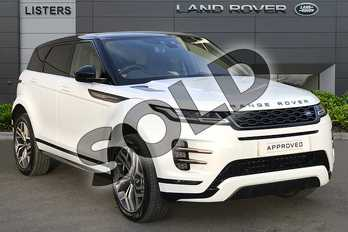 Range Rover Evoque 2.0 D180 First Edition 5dr Auto in Yulong White at Listers Land Rover Droitwich