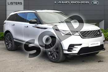 Range Rover Velar 2.0 D240 R-Dynamic SE 5dr Auto in Indus Silver at Listers Land Rover Droitwich
