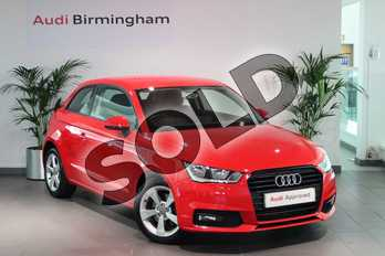 Audi A1 1.4 TFSI Sport 3dr in Misano Red Pearlescent at Birmingham Audi