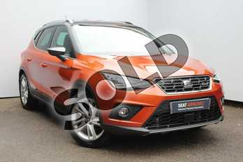 SEAT Arona 1.0 TSI 115 FR 5dr in Orange at Listers SEAT Worcester