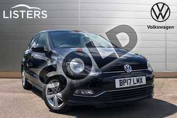 Volkswagen Polo 1.4 TDI 75 Match Edition 5dr in Deep black at Listers Volkswagen Coventry