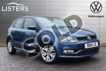 Volkswagen Polo 1.2 TSI SE 5dr in Blue Silk Metallic at Listers Volkswagen Coventry