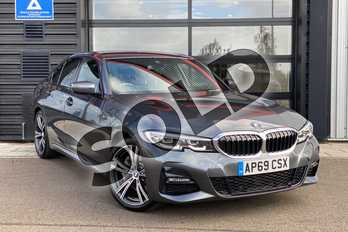 BMW 3 Series 330e M Sport 4dr Auto in Mineral Grey at Listers King's Lynn (BMW)
