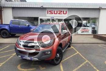 Isuzu D-MAX 2.5TD Utah Double Cab 4x4 Auto (Vision Pack) in Mica - Venetian red at Listers Isuzu Worcester