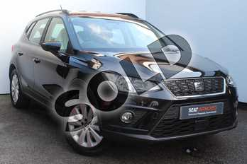 SEAT Arona 1.0 TSI SE Technology 5dr in Black at Listers SEAT Worcester
