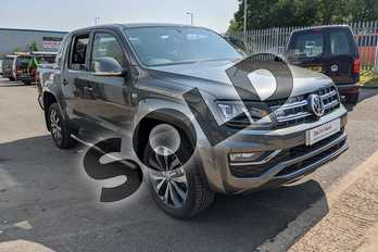 Volkswagen Amarok D/Cab Pick Up Aventura 3.0 V6 TDI 258 BMT 4M Auto in Grey at Listers Volkswagen Van Centre Worcestershire