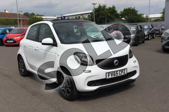 Smart Forfour 1.0 Prime Premium 5dr Auto in Bodypanels in White at Listers Toyota Lincoln