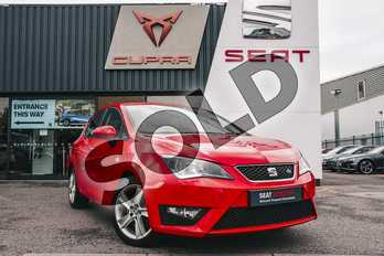 SEAT Ibiza 1.4 TDI 105 FR Technology 5dr in Special solid - Emocion red at Listers U Stratford-upon-Avon