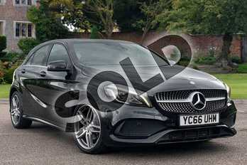 Mercedes-Benz A Class A180d AMG Line Premium 5dr Auto in Cosmos Black at Mercedes-Benz of Lincoln