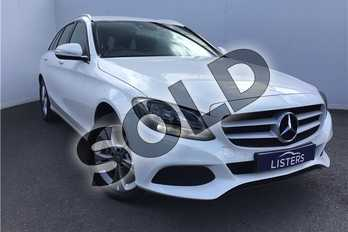 Mercedes-Benz C Class C220 BlueTEC SE Executive 5dr Auto in Solid - Polar white at Listers U Solihull