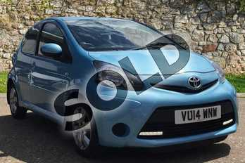 Toyota AYGO 1.0 VVT-i Move with Style 5dr in Blue at Listers Toyota Boston