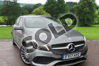 Mercedes-Benz A Class A200d AMG Line Premium 5dr Auto in Mountain Grey at Mercedes-Benz of Grimsby