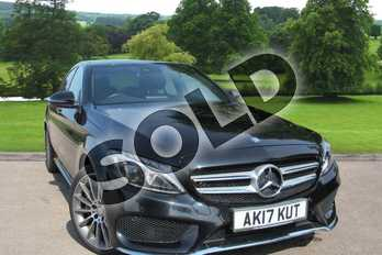 Mercedes-Benz C Class C250d 4Matic AMG Line Premium Plus 4dr Auto in Obsidian Black Metallic at Mercedes-Benz of Grimsby