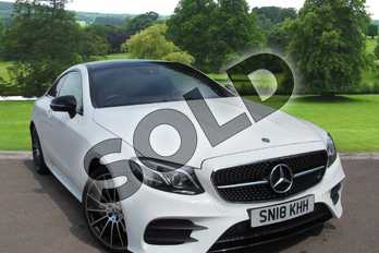 Mercedes-Benz E Class E300 AMG Line Premium Plus 2dr 9G-Tronic in Polar White at Mercedes-Benz of Grimsby