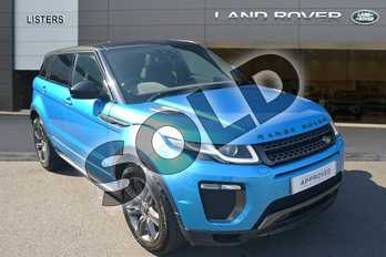 Range Rover Evoque 2.0 TD4 Landmark 5dr Auto in Moraine Blue at Listers Land Rover Hereford