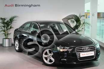 Audi A4 2.0 TDI Ultra 163 SE Technik 4dr in Mythos Black, metallic at Birmingham Audi