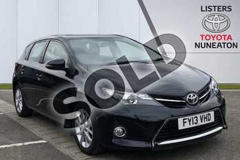 Toyota Auris 1.4 D-4D Icon 5dr in Grey at Listers Toyota Nuneaton