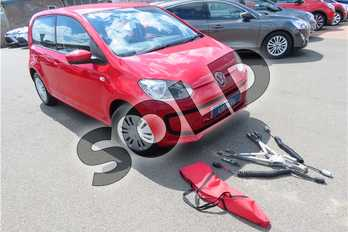 Volkswagen Up 1.0 Move Up 5dr in Solid - Tornado red at Listers Toyota Grantham