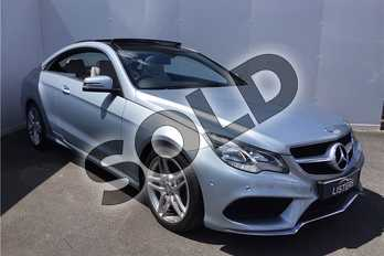 Mercedes-Benz E Class E350 BlueTEC AMG Line 2dr 9G-Tronic in Metallic - Diamond silver at Listers U Solihull