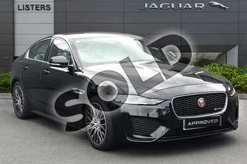 Jaguar XE 2.0d R-Dynamic S 4dr Auto in Narvik Black at Listers Jaguar Droitwich