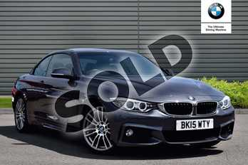 BMW 4 Series 420d M Sport 2dr Auto in Mineral Grey at Listers Boston (BMW)