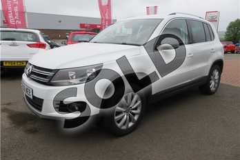 Volkswagen Tiguan 2.0 TDI BlueMotion Tech Match 5dr DSG in Solid - Candy white at Listers Toyota Grantham