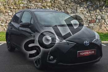 Toyota Yaris 1.5 Hybrid Design 5dr CVT in Eclipse Black at Listers Toyota Grantham