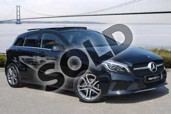 Mercedes-Benz A Class A200d Sport Edition Plus 5dr Auto in Cosmos Black at Mercedes-Benz of Hull