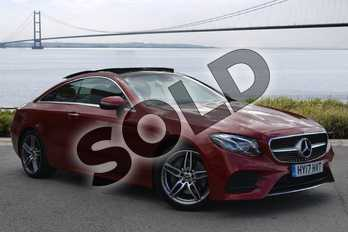 Mercedes-Benz E Class E220d AMG Line Premium Plus 2dr 9G-Tronic in designo Hyacinth Red Metallic at Mercedes-Benz of Hull