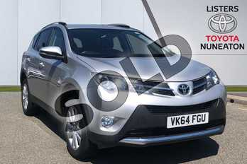 Toyota RAV4 2.2 D-4D Invincible 5dr in Silver at Listers Toyota Nuneaton